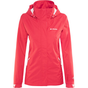 Columbia Trestle Trail Hooded Jacket Women red camellia